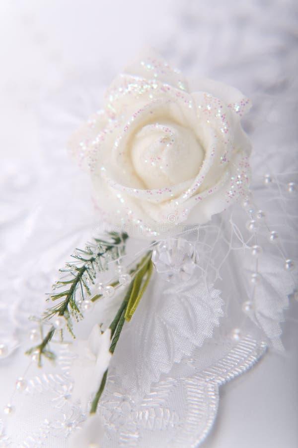 buttonhole ślub zdjęcie royalty free