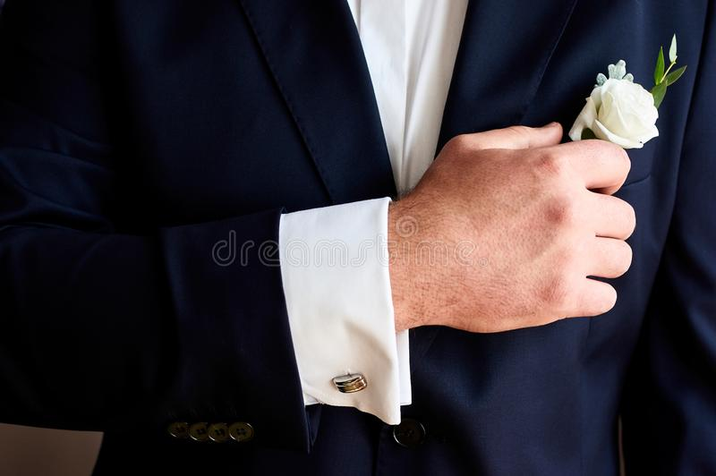 buttonhole obraz royalty free