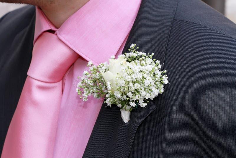 buttonhole kwiaty obrazy stock