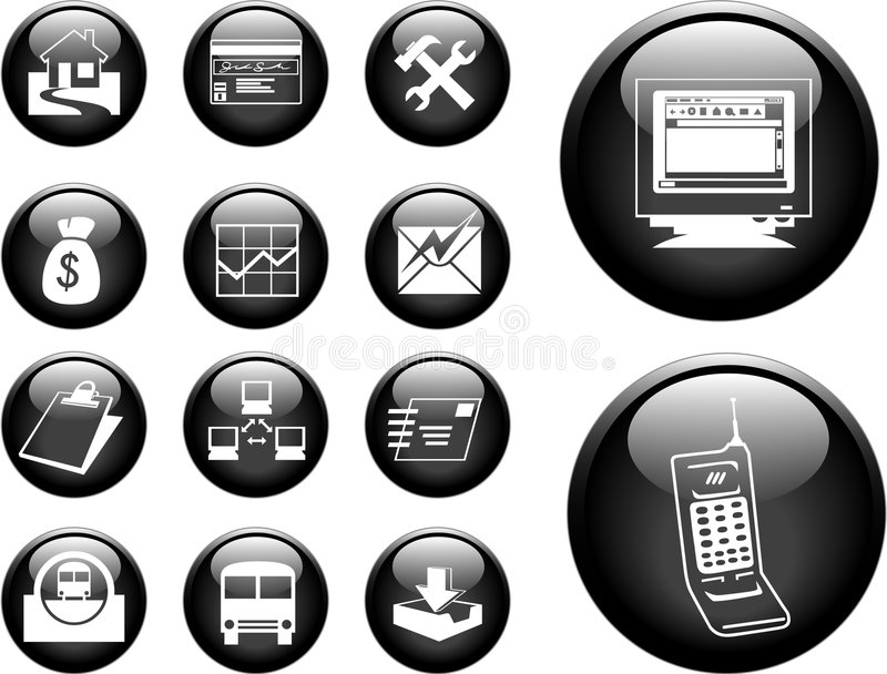 Download Buttons Stock Image - Image: 1286071