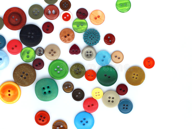 Download Buttons stock illustration. Image of colors, sewing, crafts - 26032782