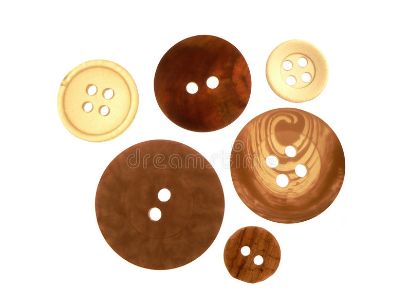 Buttons. Assortment of buttons stock photo