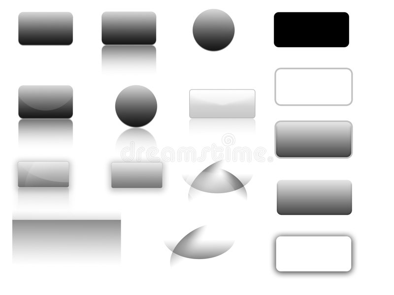 Download Buttons & Bars Royalty Free Stock Image - Image: 7481286