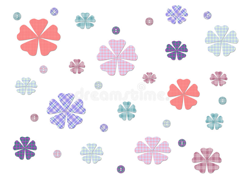 Download Buttons And Bows stock illustration. Illustration of illustration - 2931234