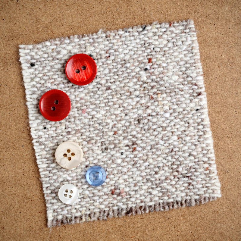 Download Buttons On Cloth Royalty Free Stock Photos - Image: 24143698