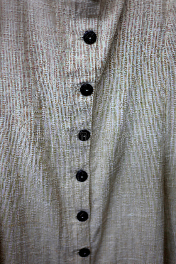 Download Buttons on cotton shirt stock photo. Image of corporate - 28289108