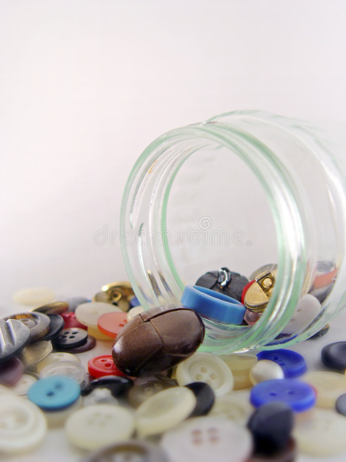 Download Buttons jar stock image. Image of buttons, crowded, chaotic - 69553