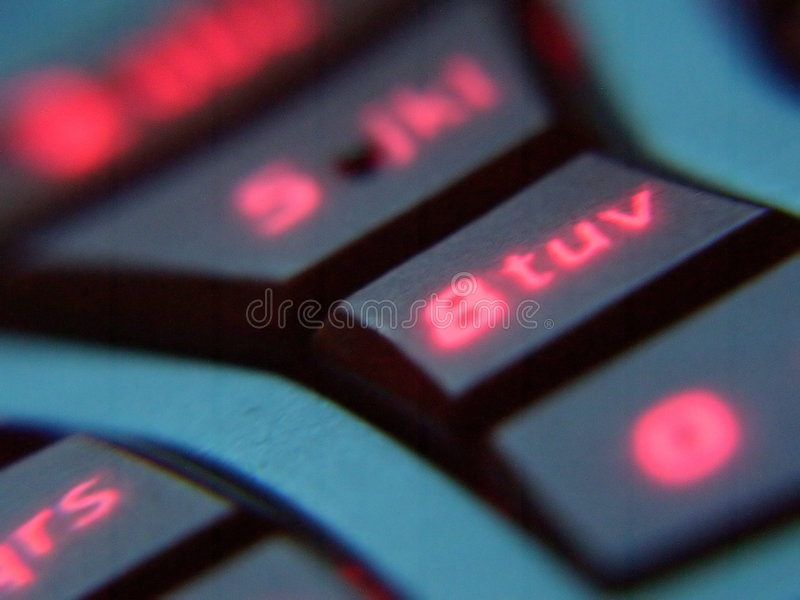 buttons mobil royaltyfria foton