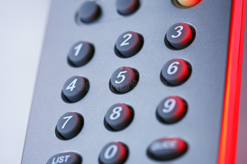 Download Buttons on remote control stock photo. Image of modern - 5395518