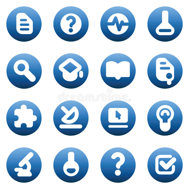 Download Buttons for science stock vector. Illustration of light - 13549710