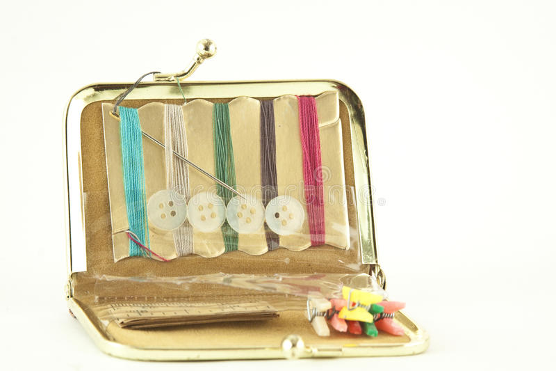 Download Buttons And Thread Travel Kit Stock Illustration - Image: 26596194