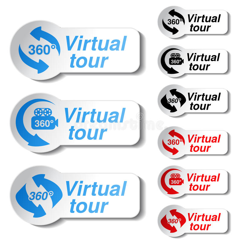 Buttons for virtual tour