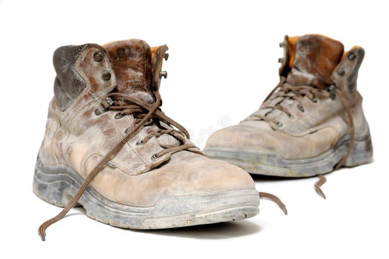 buty odizolowywali biały działanie obrazy royalty free