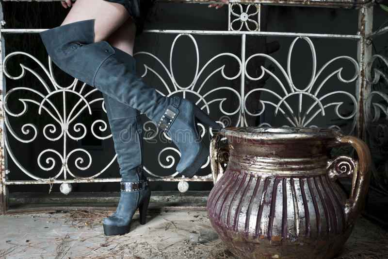 buty s kobiety obraz royalty free