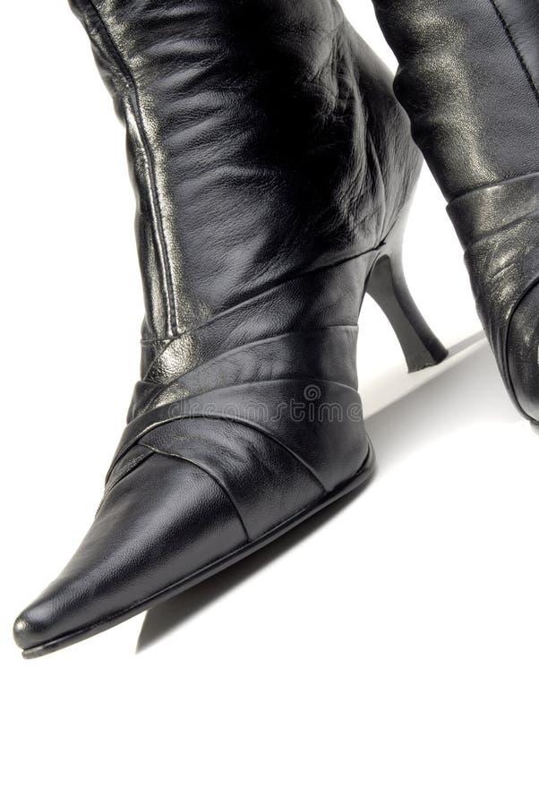 buty skórzane kobiety zdjęcie royalty free