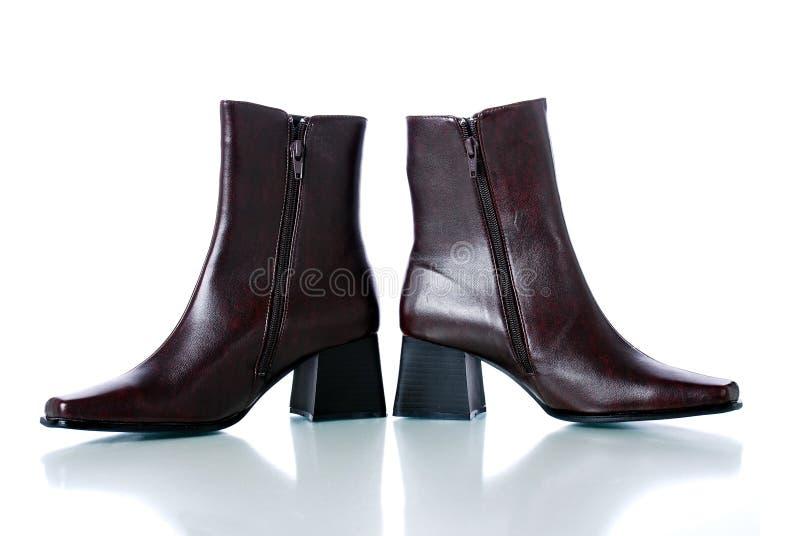 buty skórzane kobiety fotografia royalty free
