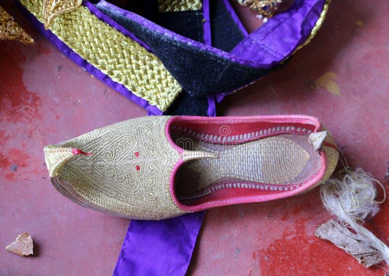Buty z koślawym nosem obrazy stock