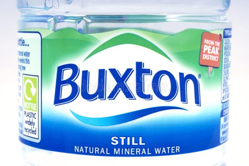 Buxton Still Natural Spring Water stockbild
