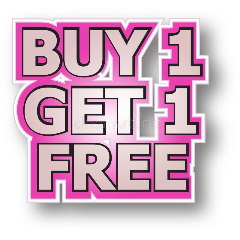 Free Buy 1 Get 1 Free Stock Photos - 16067743