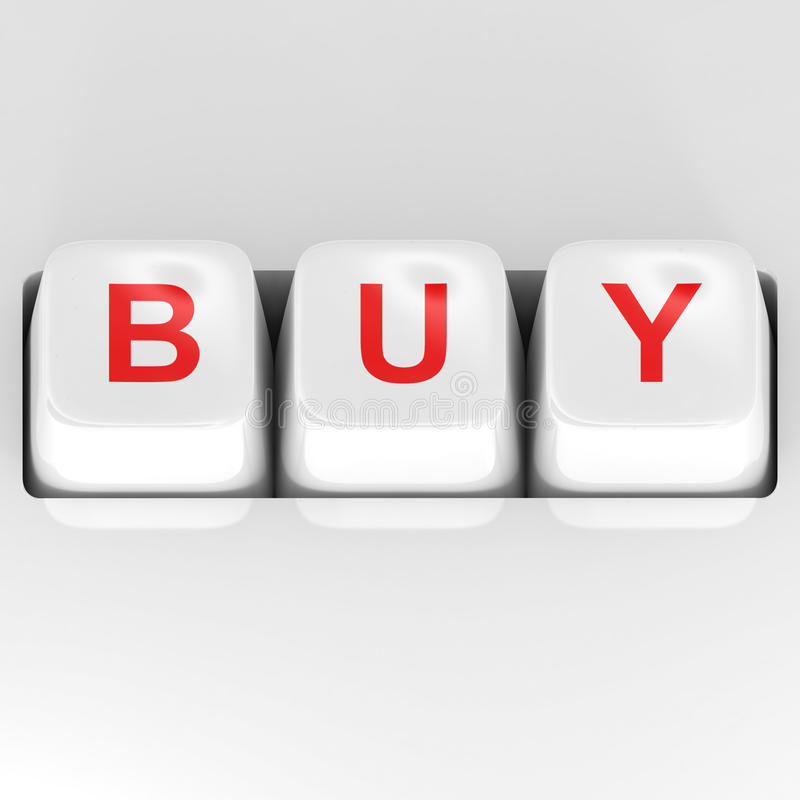 Download Buy Button stock illustration. Image of retail, ideas - 17975638