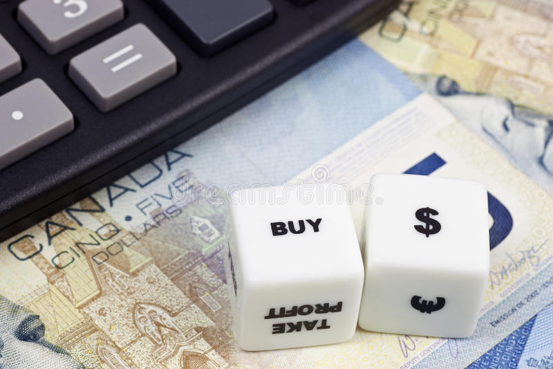 Buy Canadian Dollar Stock Photo