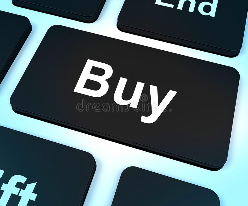 Download Buy Computer Key For Commerce Or Retail Royalty Free Stock Images - Image: 26476449