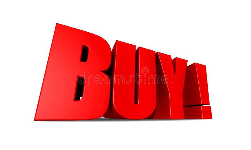 Download Buy Illustration stock illustration. Image of banner, white - 8011104