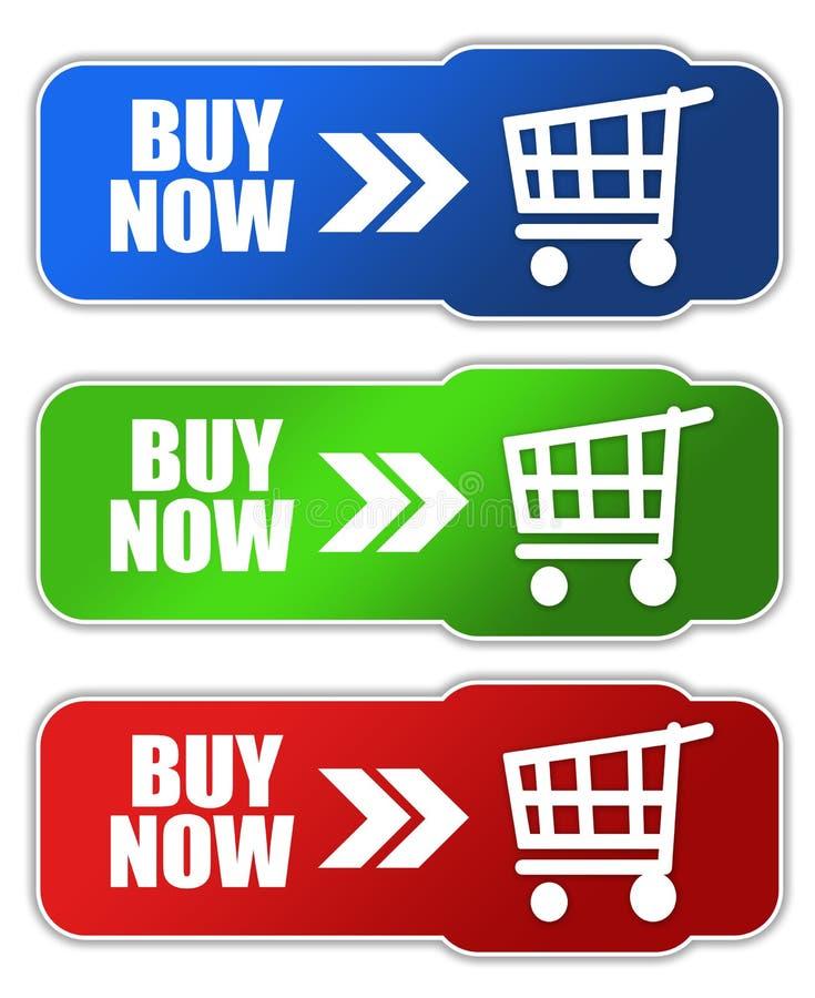 Buy Now Button Royalty Free Stock Photos