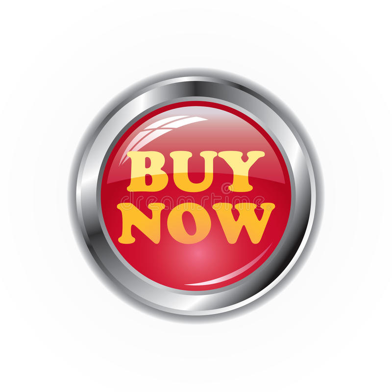 Buy It Now: Buy Now Button Stock Illustration. Illustration Of