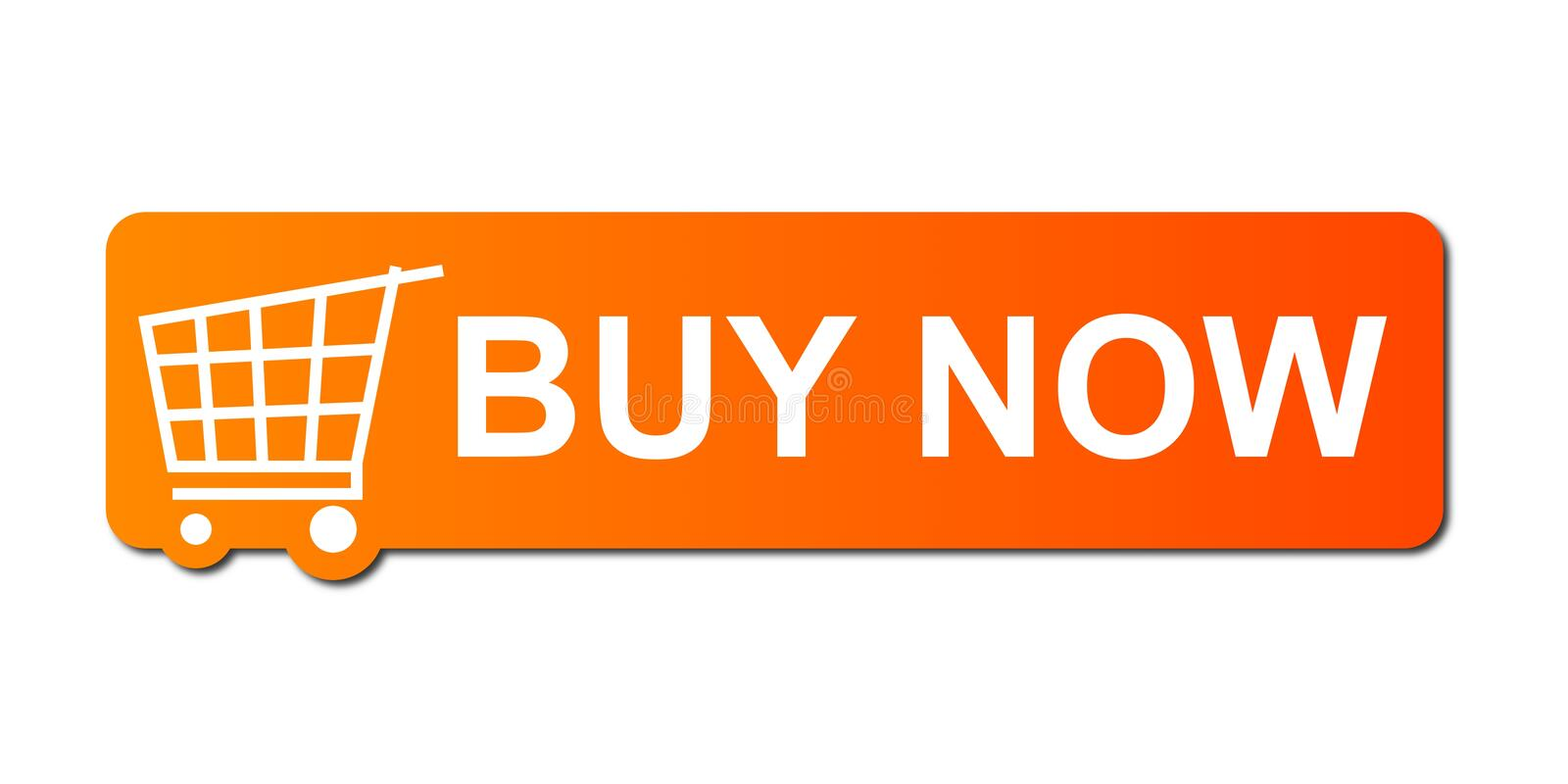 Download Buy Now Orange stock illustration. Image of advertising - 9769332