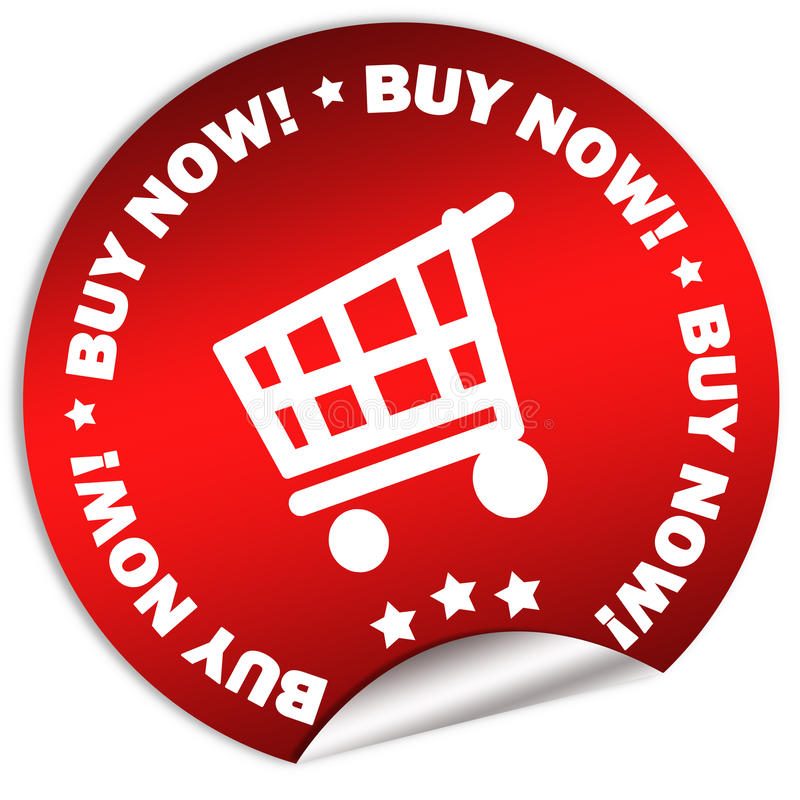 Download Buy Now Sticker Stock Photography - Image: 11497442