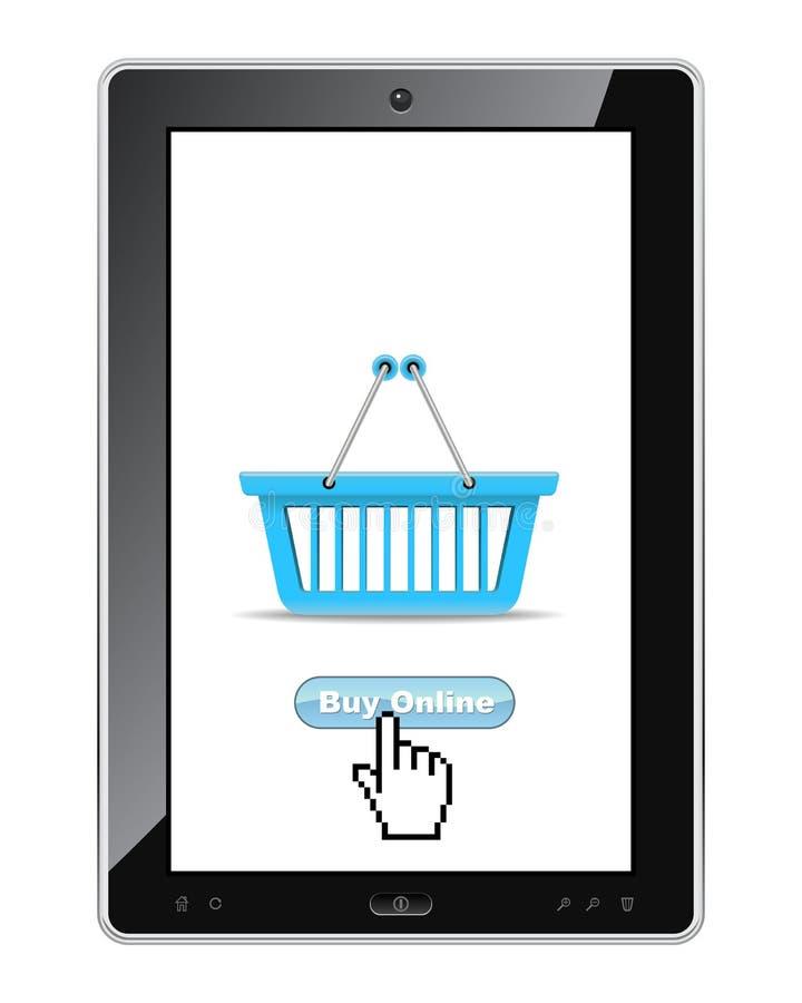 Download Buy online stock vector. Image of digital, black, equipment - 24254356