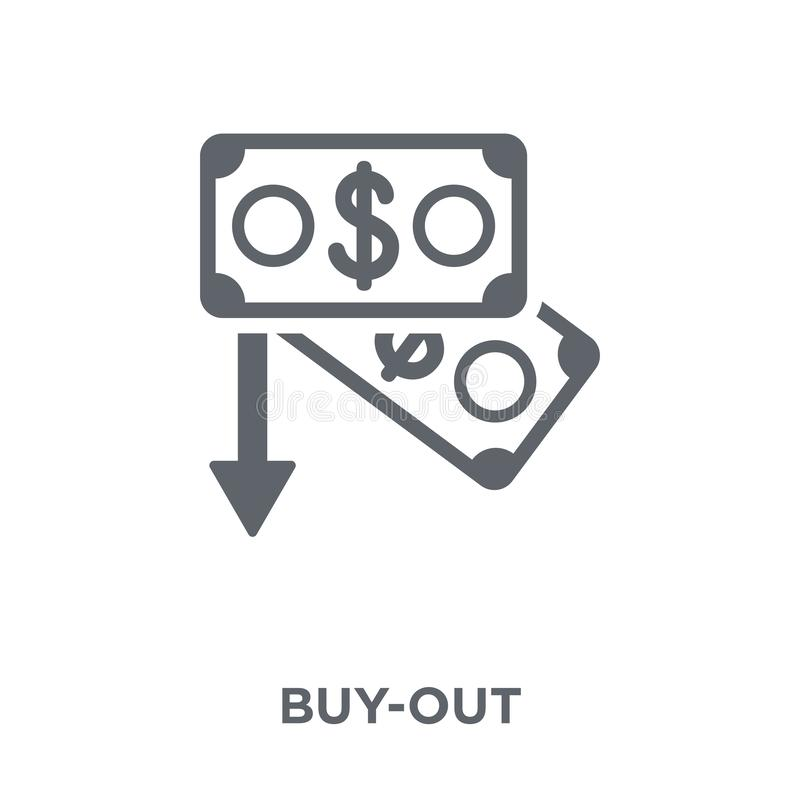 Buy-out icon from Buy out collection. vector illustration