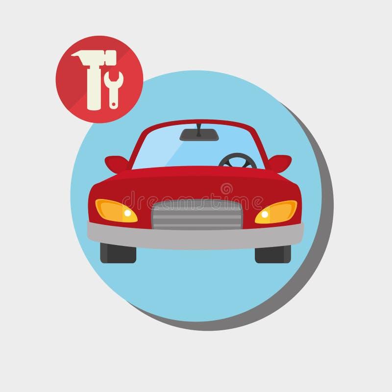 Buy or rent a car business. Illustration graphic design vector illustration