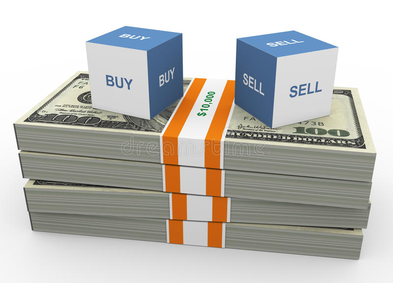 Buy And Sell Stock Photography