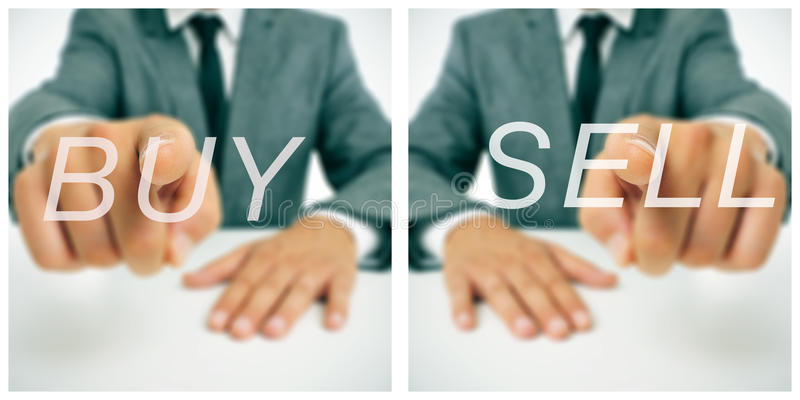 Buy/sell stock images