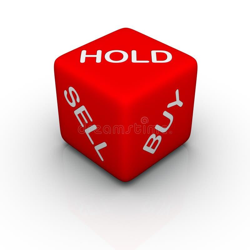 Buy, vendita, stretta illustrazione vettoriale