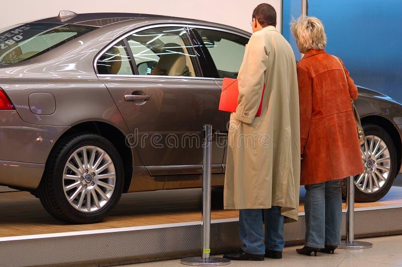 Buying a car royalty free stock photos