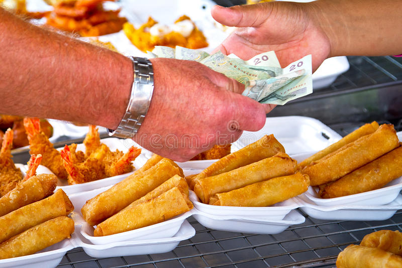 Download Buying Food On The Local Market Stock Photo - Image: 28119638