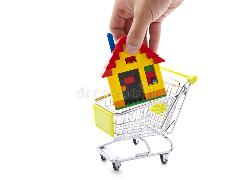 Download Buying a house stock image. Image of rent, isolated, purchase - 22675383
