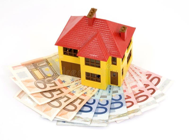 Buying house stock image