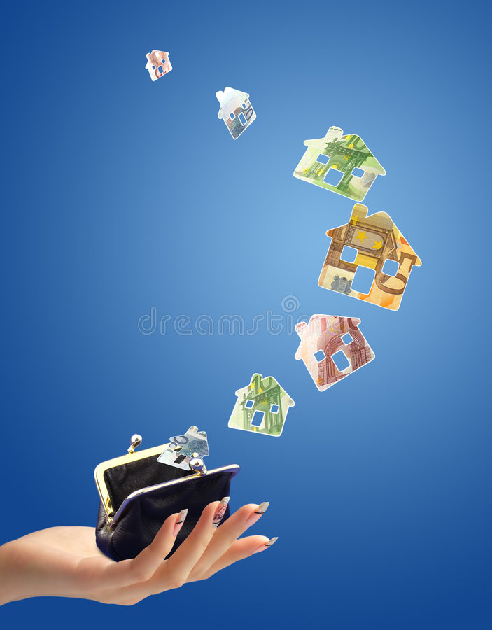 Download Buying house concept stock image. Image of input, money - 7229849
