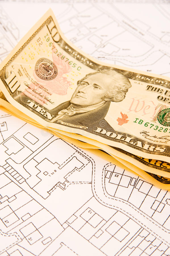 Buying a house off plan. stock photo