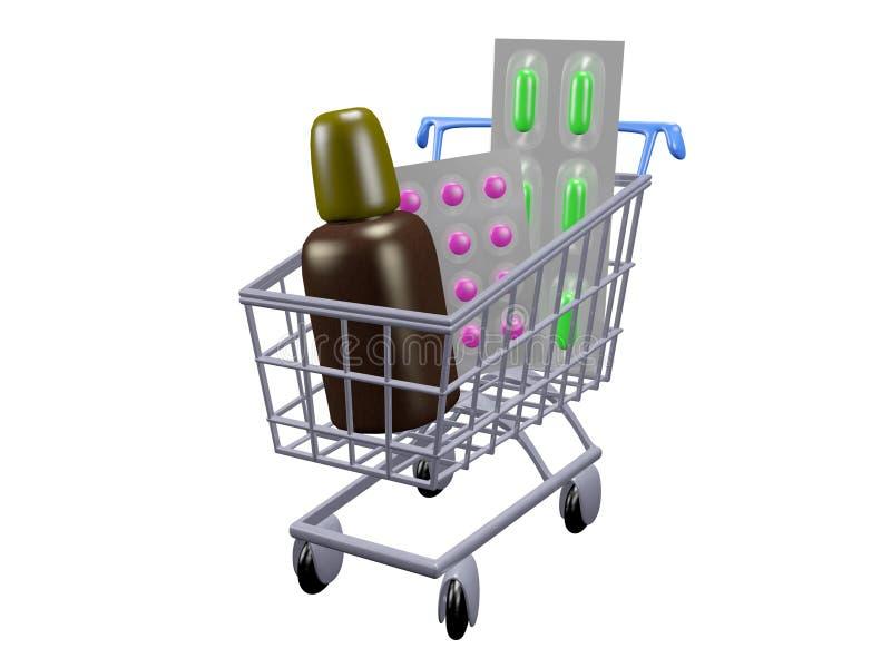 Download Buying Pills stock illustration. Illustration of illustration - 16896094