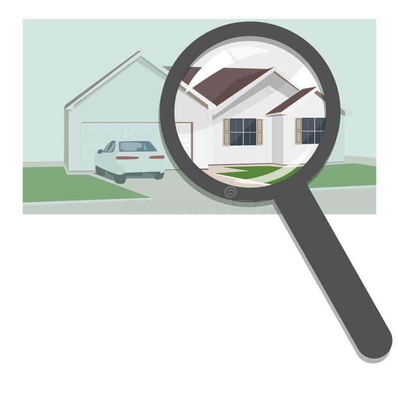 Apartments Agency: Villas Stock Illustrations