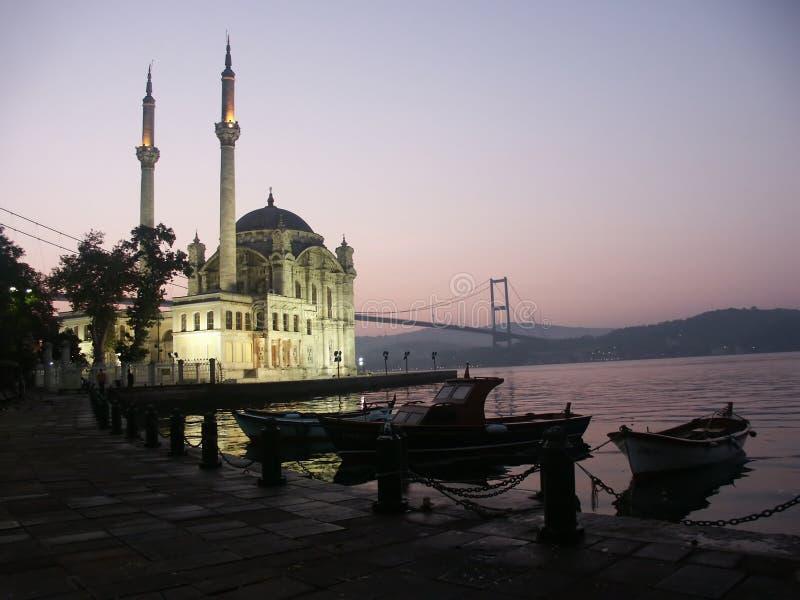 The Buyuk Mecidiye Mosque stock photos