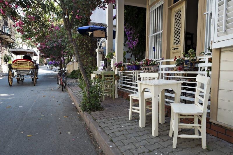 Buyukada Istanboel, Turkije stock afbeeldingen