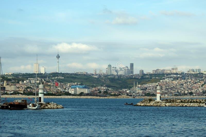 Buyukcekmece Istanbul. Buyukcekmece port and coasts of Buyukcekmece in Istanbul, Turkey stock images