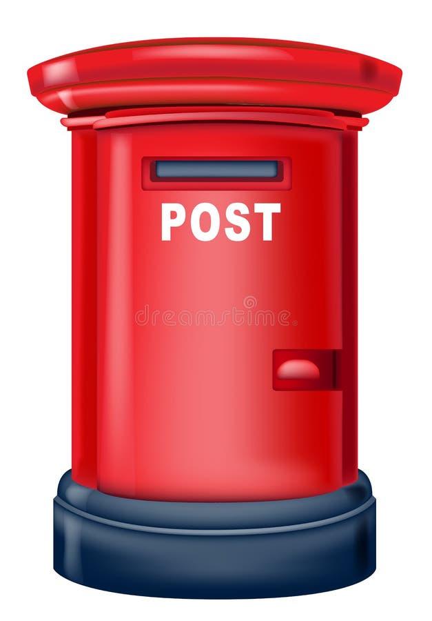 Buzón de correos stock de ilustración