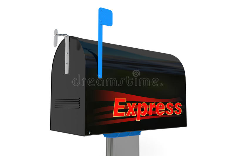 Buzón expreso imágenes de archivo libres de regalías